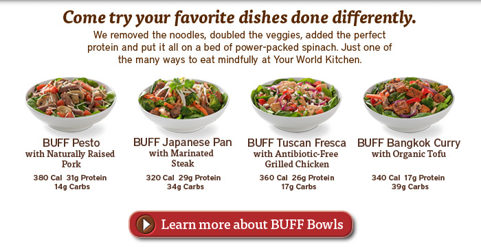 Learn more about BUFF Bowls